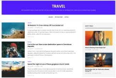 Travel Page of GoodLife
