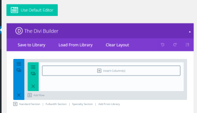 Builder Layout Options