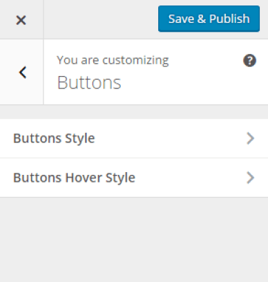 Theme Customizer - Buttons