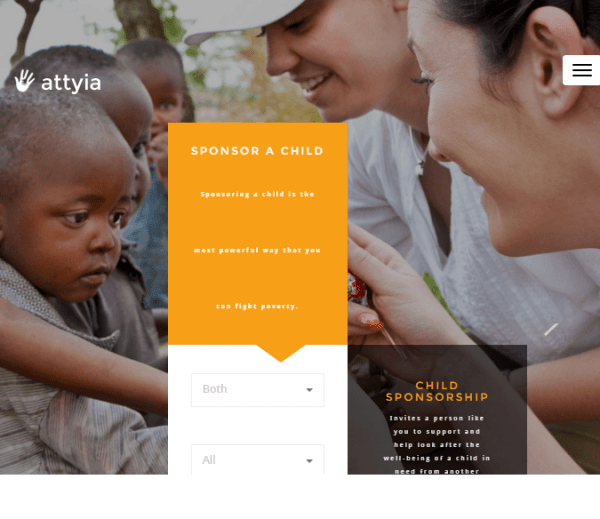 Attyia – NGO and Charity WP theme