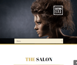 Cutting Edge - Health and Beauty WP theme