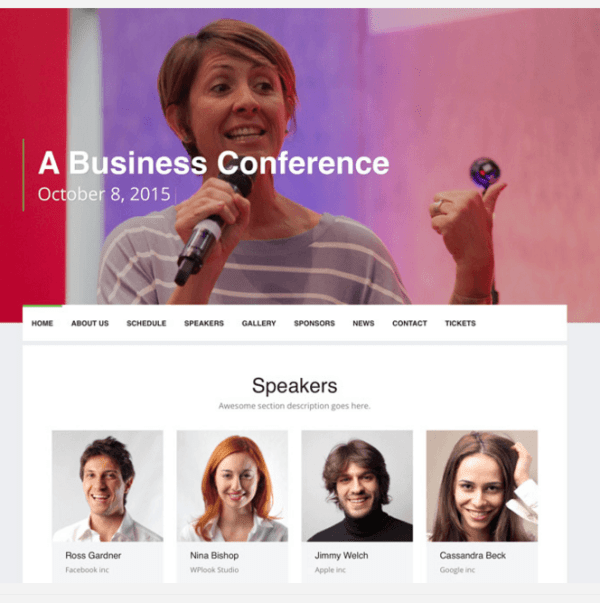 Event - WordPress Theme for Events and Conferences.