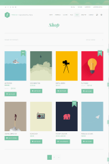 Freelo WP – shop page