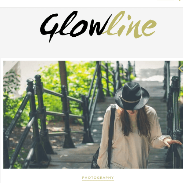 Glowline – WP Theme for blogging