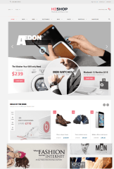 H2shop – homepage