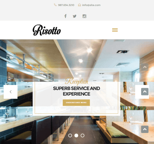 Risotto – WP theme for Restaurants and Cafes