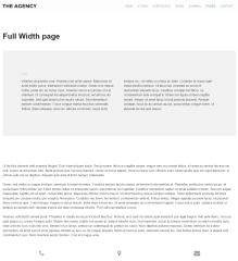 The Agency – full width page