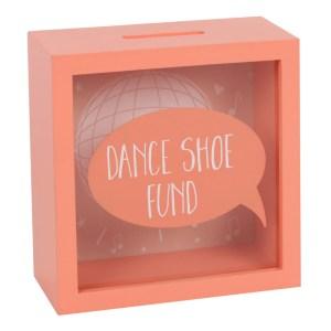 Dance Shoe Fund Money Box