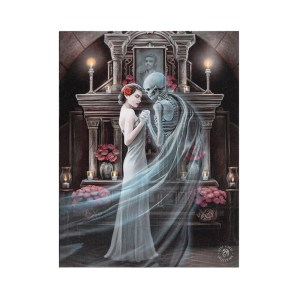 19x25cm Forever Yours Canvas Plaque by Anne Stokes