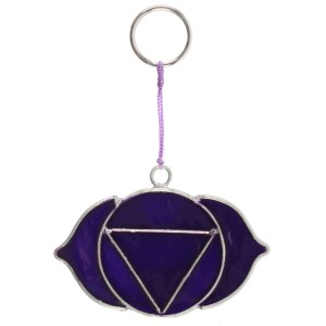 Third Eye Chakra Symbol Mini Suncatcher