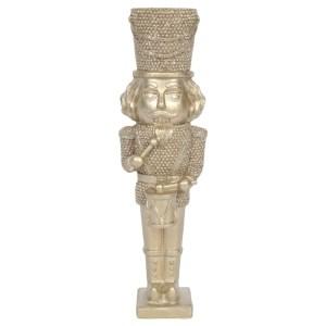 Gold Nutcracker Ornament