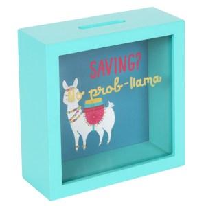 Saving? Prob-Llama Money Box