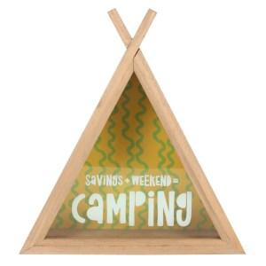 Camping Fund Teepee Money Box