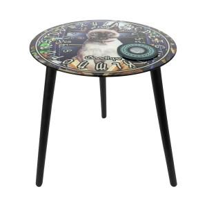 Hocus Pocus Glass Spirit Board Table by Lisa Parker