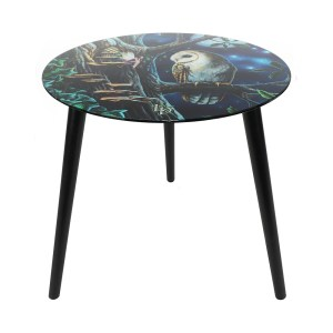 Fairy Tales Glass Table by Lisa Parker