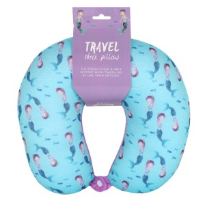 Mermaid Magic Travel Neck Pillow