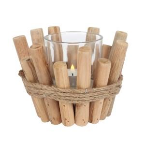 Single Driftwood Candle Holder
