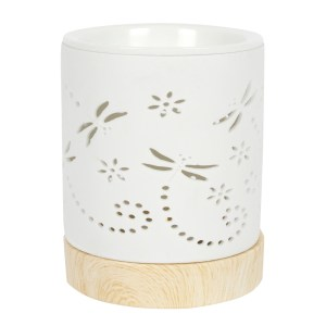 Dragonfly Matte Ceramic Oil Burner