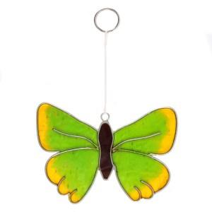 Green Hairstreak Butterfly Suncatcher