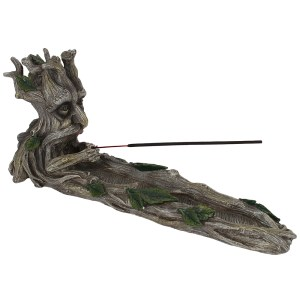 Green Man Incense Stick Holder
