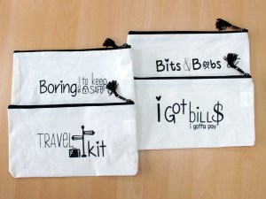 Get Organised Pouch - Bits & Bobs