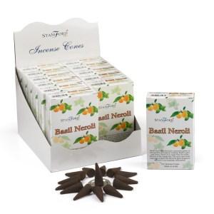 Basil & Neroli Incense Cones