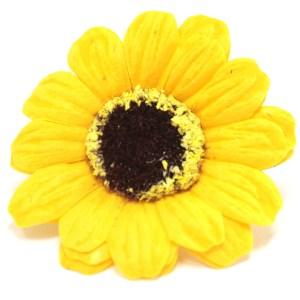 Craft Soap Flowers - Sml Sunflower - Yellow