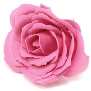 Craft Soap Flowers - Lrg Rose - Rose