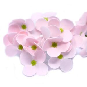 Craft Soap Flowers - Hyacinth Bean - Pink