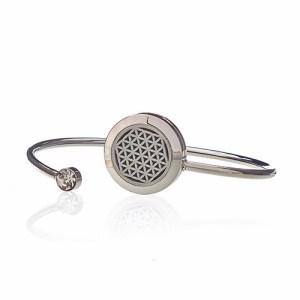 Aromatherapy Jewellery Crystal Bracelet - Flower of Life - 20mm