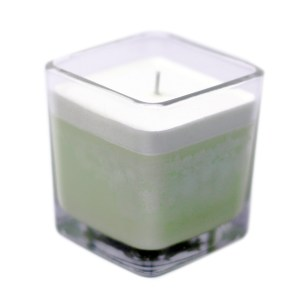 White Label Soy Wax Jar Candle - Cucumber & Mint