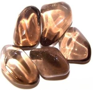 L Tumble Stones - Smoky Quartz