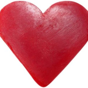 Heart Guest Soap - Raspberry