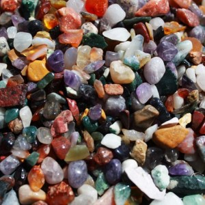 Mixed Natural Gemstone Chips - 1KG