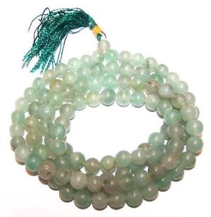 108 Bead Mala - Green Aventurine