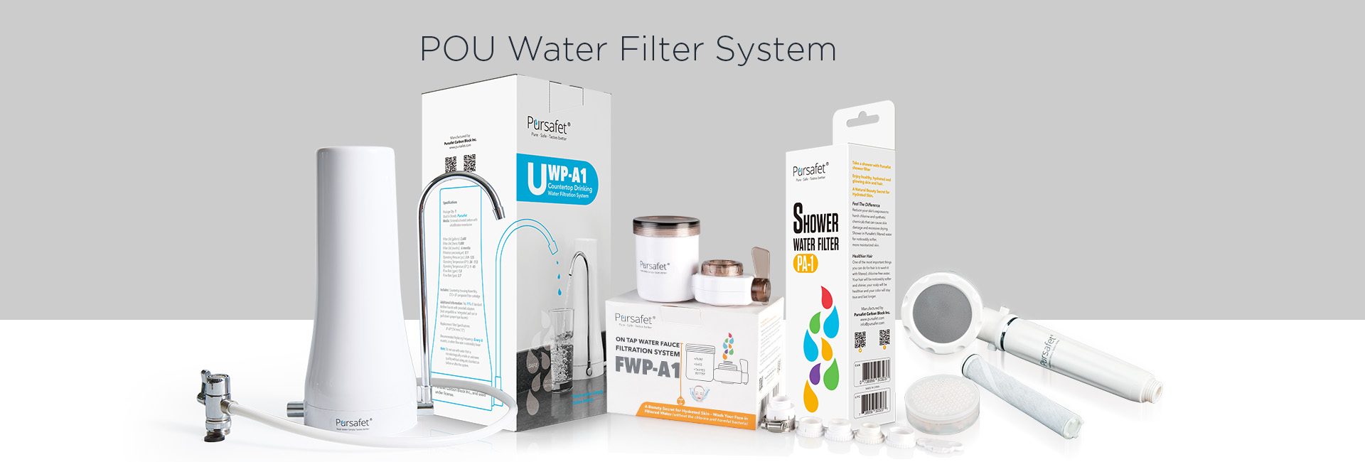 POU water filter series
