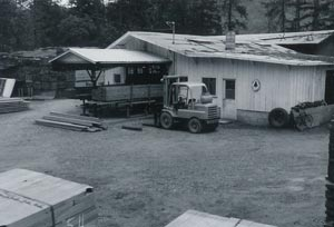 First Facility near Grants Pass, Oregon about 1970