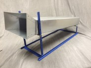 Stainless Steel Chute (Blue frame sold seperate)
