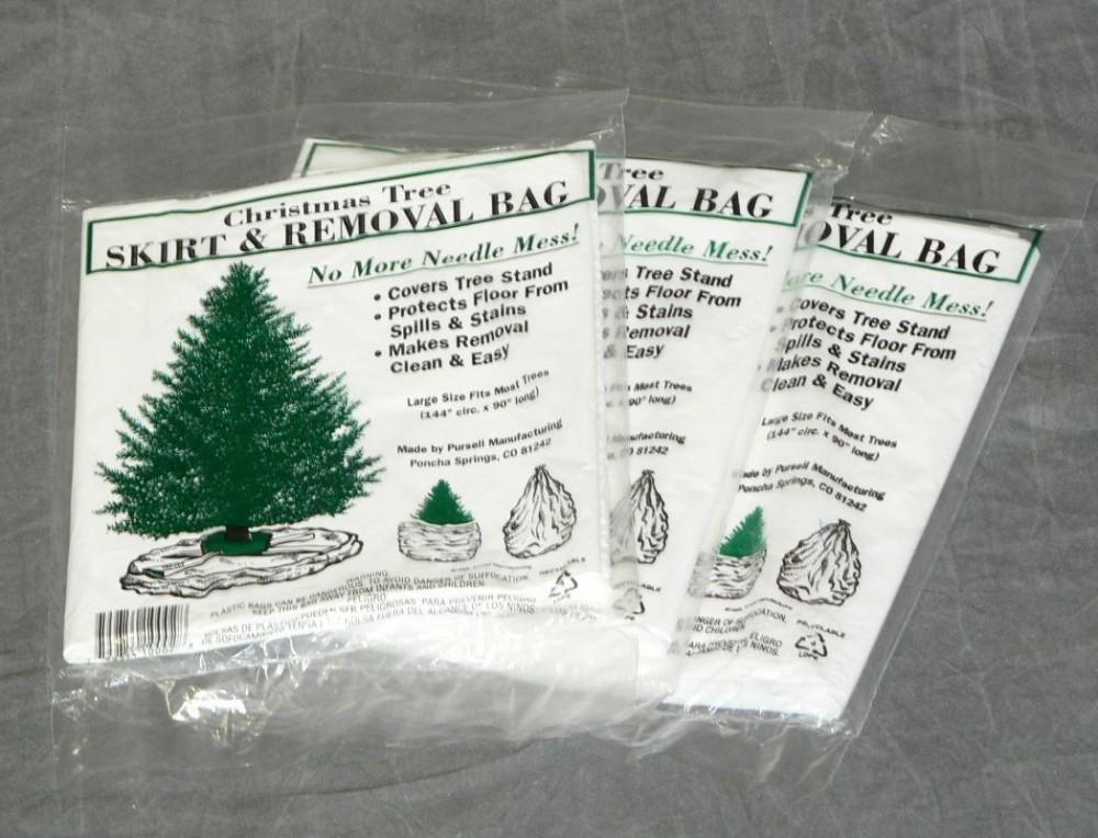 Christmas tree removal bag bulk pk u pursell manufacturing