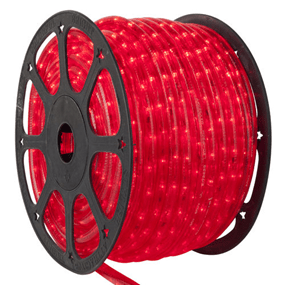 Commercial rope light 150 ft red w 3 splice connector kit commercial rope light 150 ft red w 3 splice connector kit aloadofball Choice Image