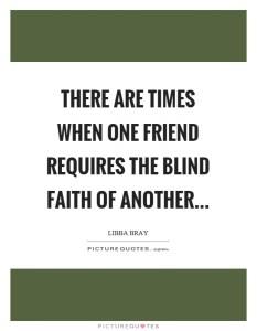 faith in friendship