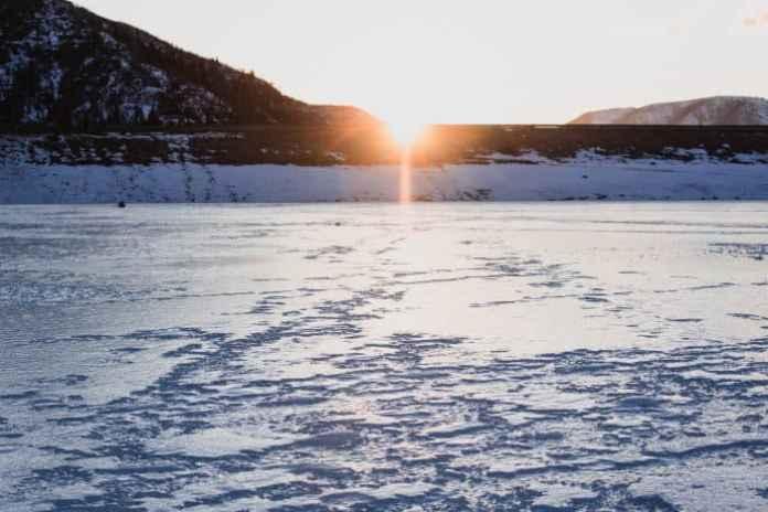 Night Ice Fishing