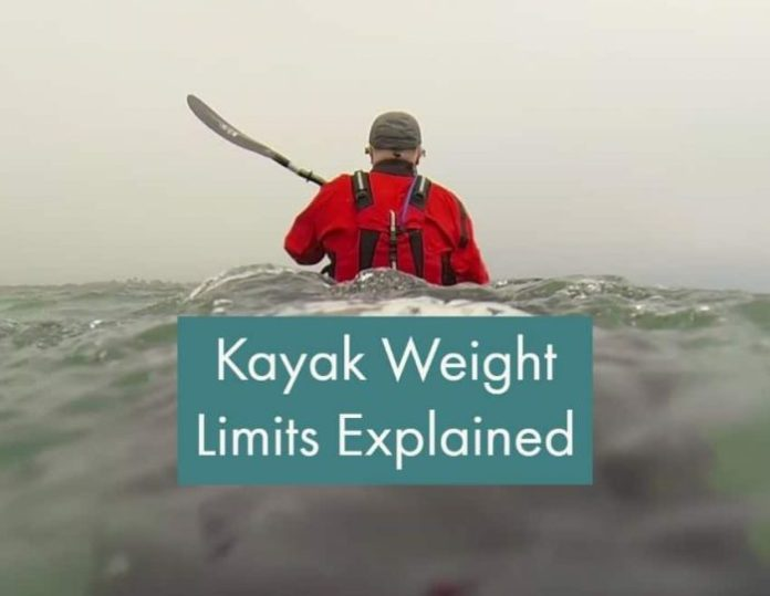 Kayak weight limits explained