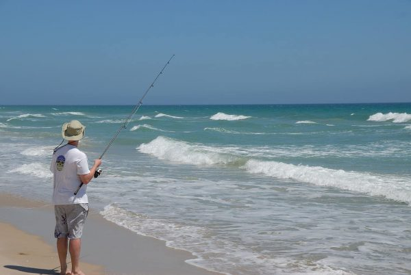 Surf Fishing During the Day