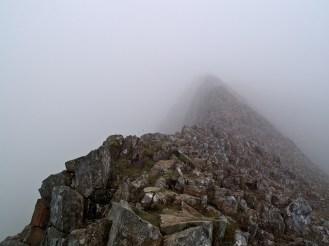 Final ridge before getting to Snowdon
