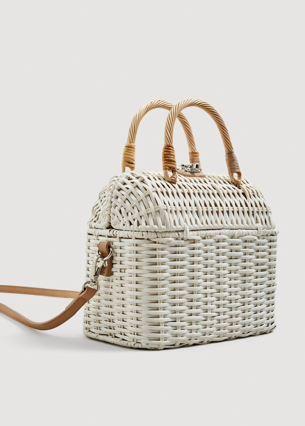 Mango Bamboo Basket bag