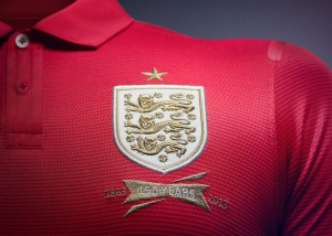 England 2013 Badge Away