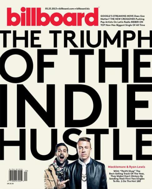 Macklemore and Ryan Lewis Billboard Cover