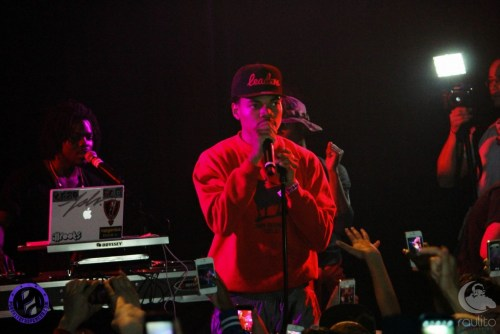 Chance The Rapper 2-Club Wiley Lincoln Hall