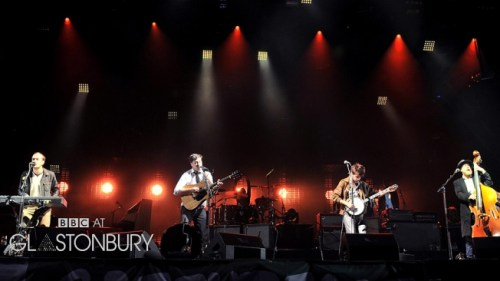 Mumford and Sons Glastonbury 2013